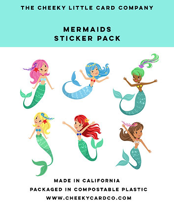 Mermaids Sticker Pack
