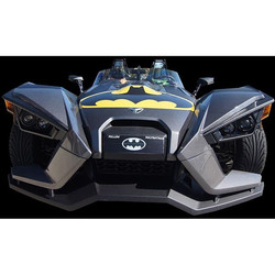 And some people say that this looks  like the Batmobile haha
