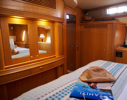 Master Cabin Fwd. view
