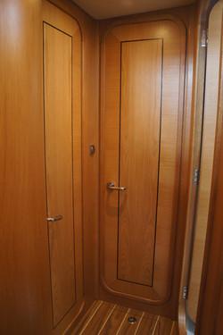 Forward doors