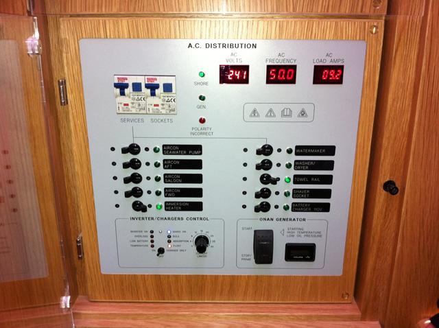 Power AC panel