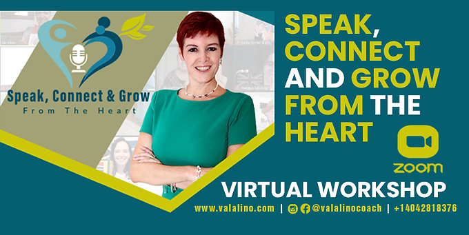 Connect, Speak And Grow From The Heart
