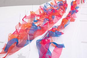 SPREAD installation at Tokyo Midtown Design Touch