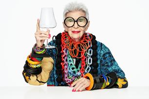 Global design brand Nude announces partnership  with style icon Iris Apfel