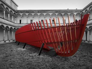 "SANLORENZO : FROM SHIPYARD TO COURTYARD at INTERNI ""Human Spaces"" exhibition"