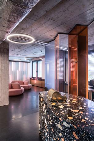 Studio Karhard, Berghain's designers go to Urban Dentist