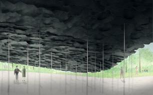London Serpentine Pavilion 2019 designed by Junya Ishigami