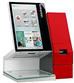 RFID selfCheck™1000 自助借還書機 hybrid 1000 桌上型