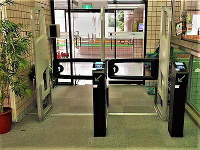 致理科大 門柱型 閘門