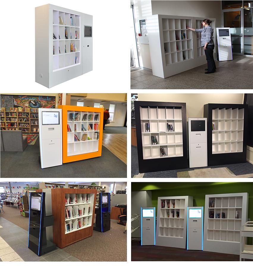 RFID智慧書架