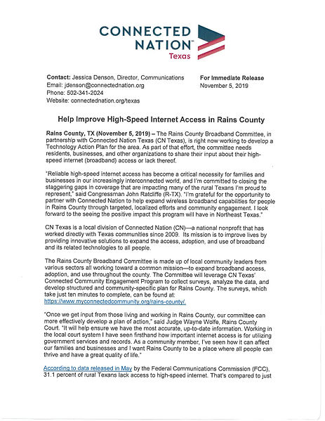 Connected Nation Texas - Press Release_P