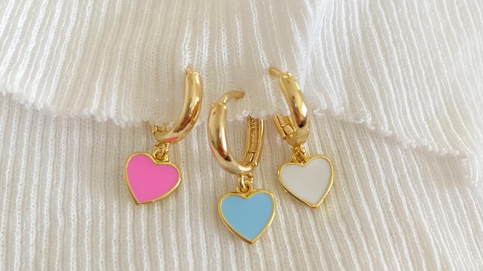 lots of love earrings