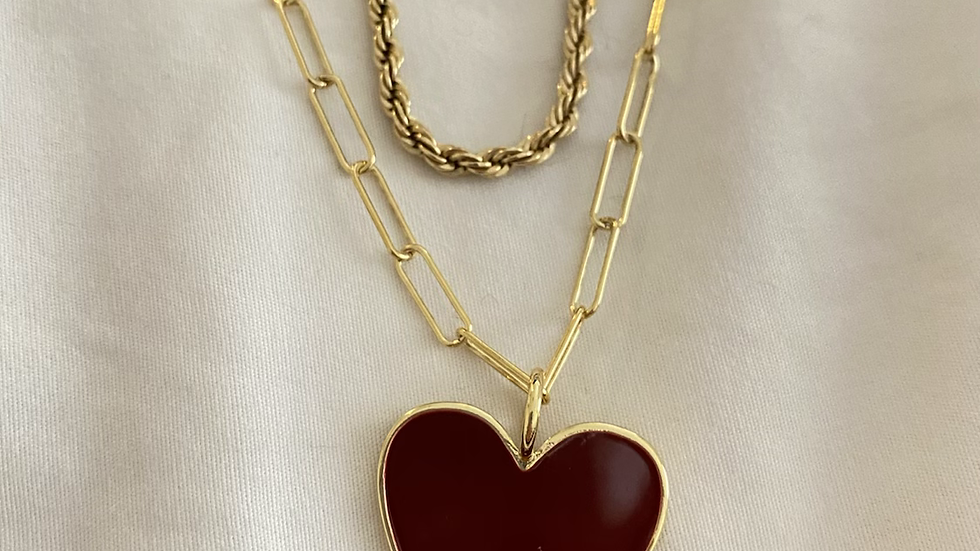 Aggie chain necklace