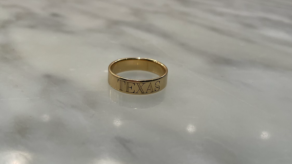 Gold Custom Ring