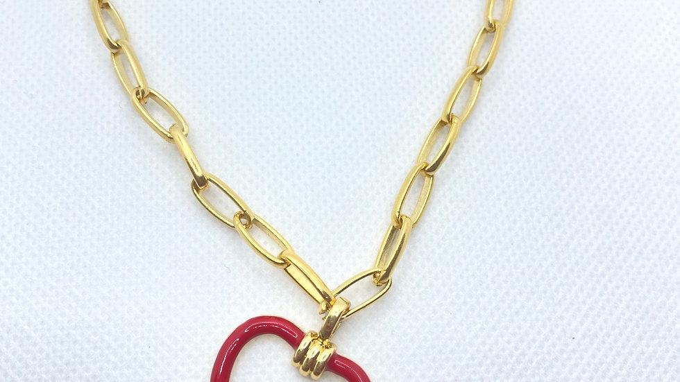 Cut out necklace