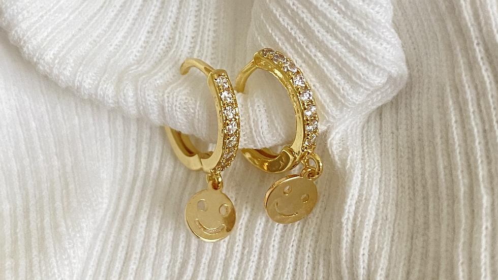 Smiley Miley Earrings