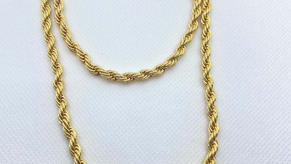 XL rope necklace