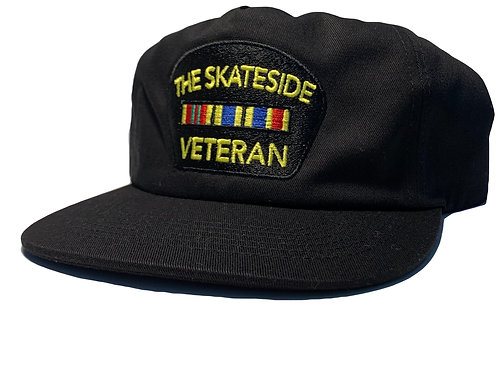 BLACK ON BLACK VETERAN HAT