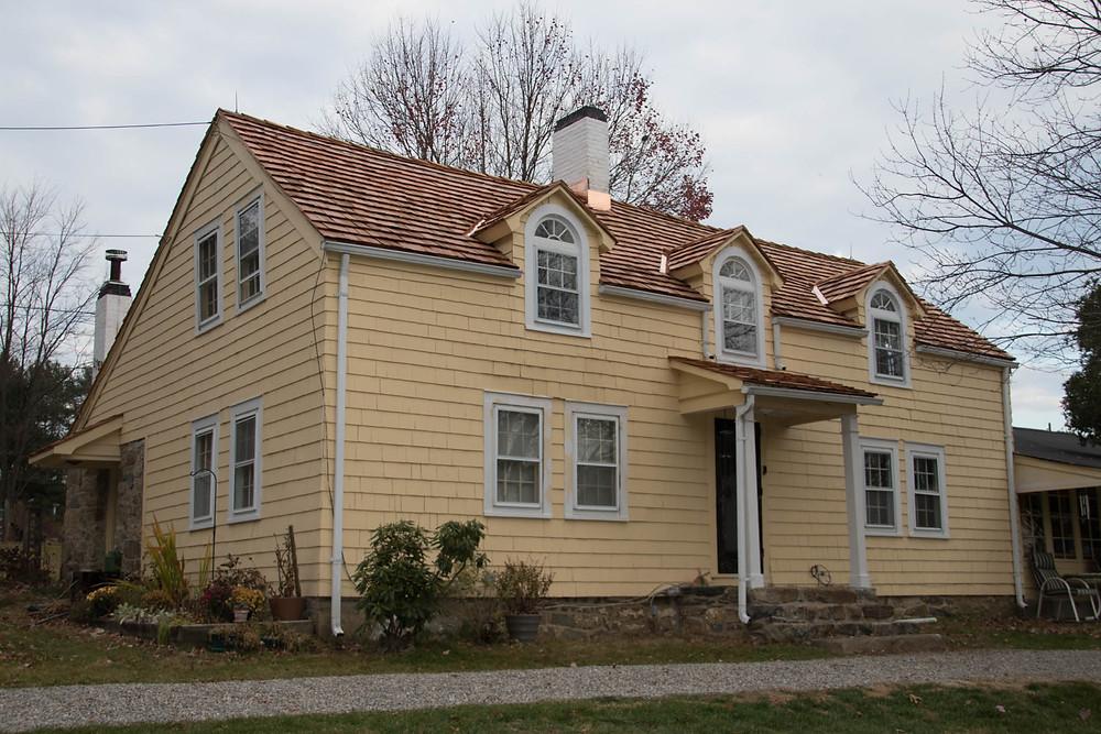 White Chimneys Farm - new roof