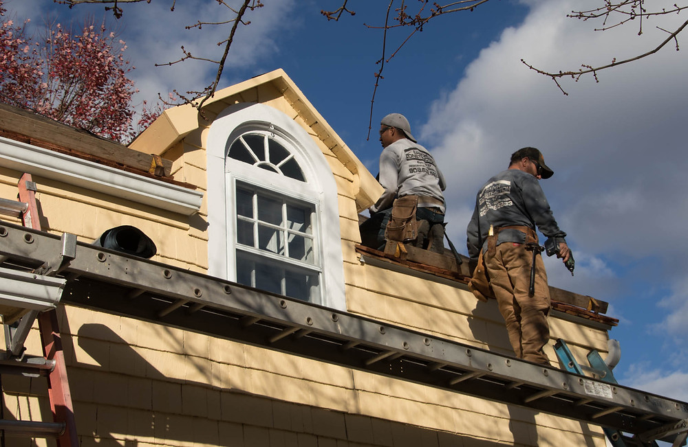 Roofers and dormer
