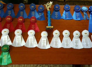 Another year, another trophy - the Warren County Farmer's Fair!