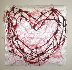 Rakasta kärsi ja... 2005 (40cmx40cm)