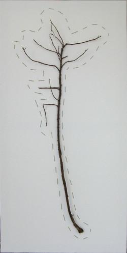 2009 Ruusunoksa ommeltu