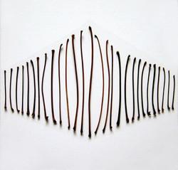 Lehtien varsia 2008 (40cmx40cm)