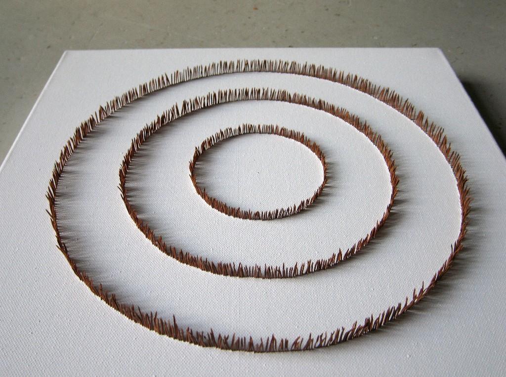 Kolme kehää 2008 (40cmx40cm)