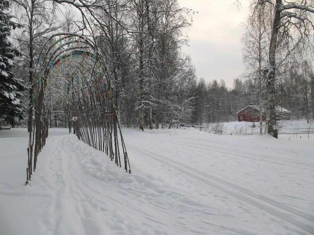 2011 Toiveiden kuja talvella