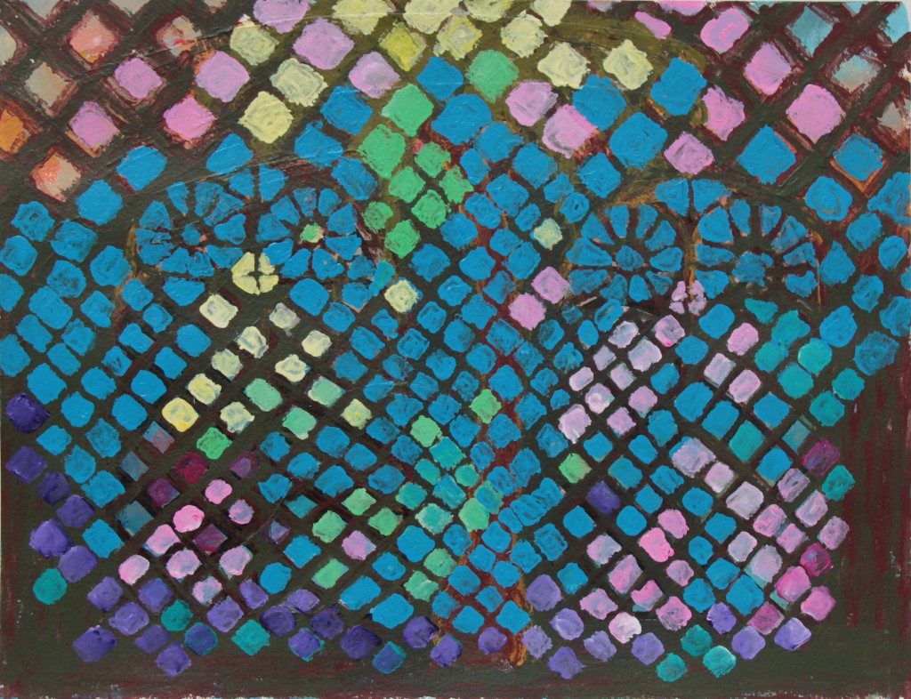Mosaiikki 2012 (30cmx42cm)