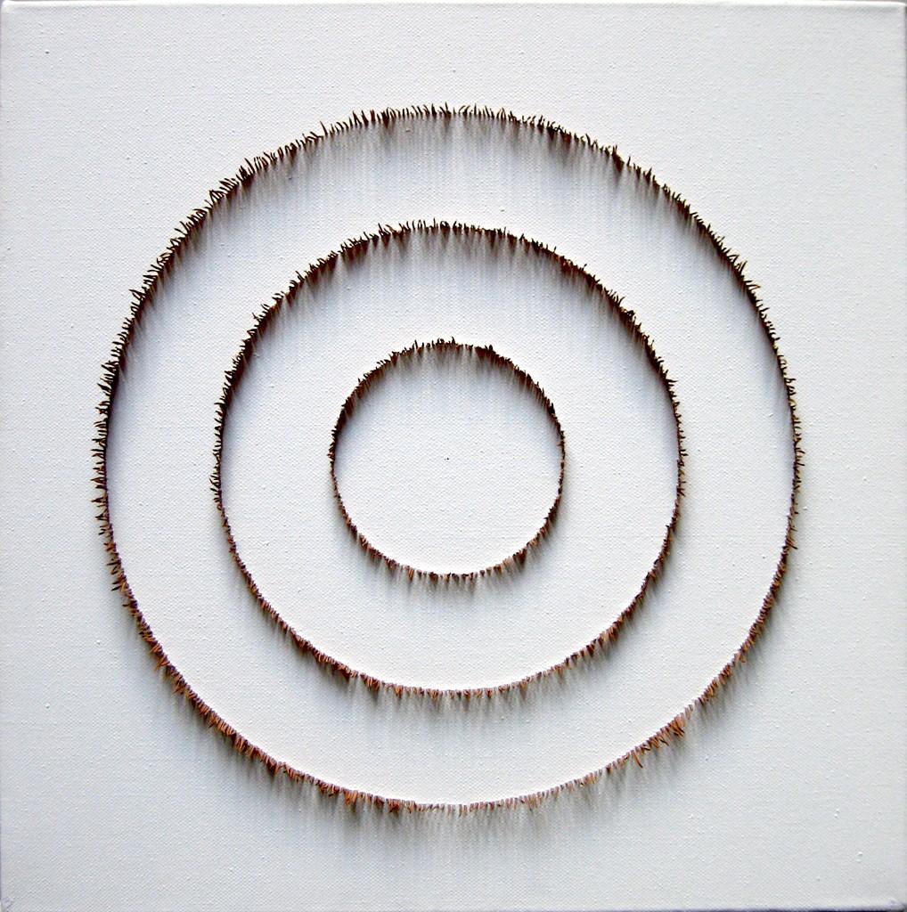 Neulaskehät 2008 (40cmx40cm)