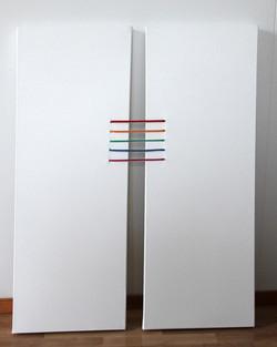 Yhteys 2011 (2x60cmx30cm)