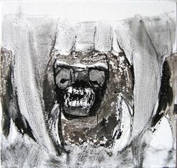 Eläimellistä raivoa 2009 (40cmx40cm)