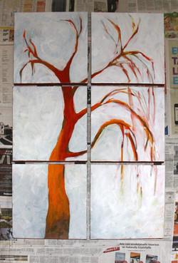 Voimapuu 2011 (6x40cmx40cm)
