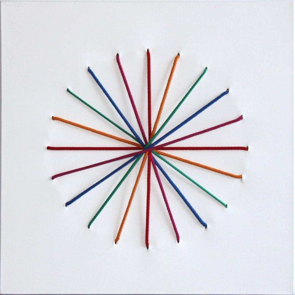 Väriympyrä 2011 (40cmx40cm)