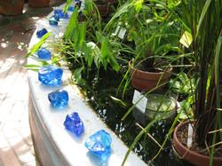 Siniset lasihelmet 2008