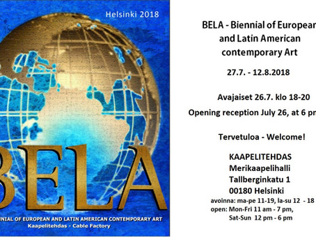 BELA - Biennial of European and Latin American contemporary Art 27.7.-12.8.
