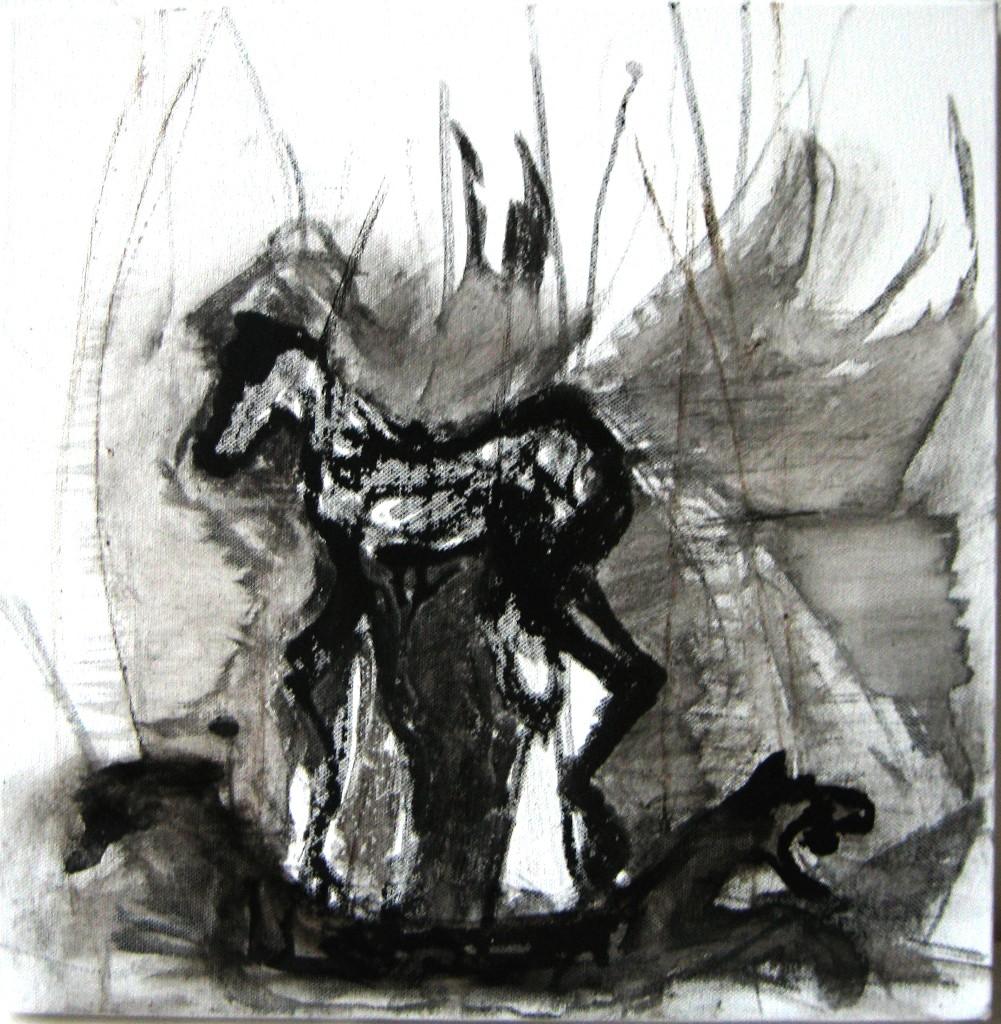 Keinuvillivarsa 2009 (40cmx40cm)