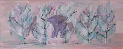 Satumetsä 2006 (20cmx50cm)