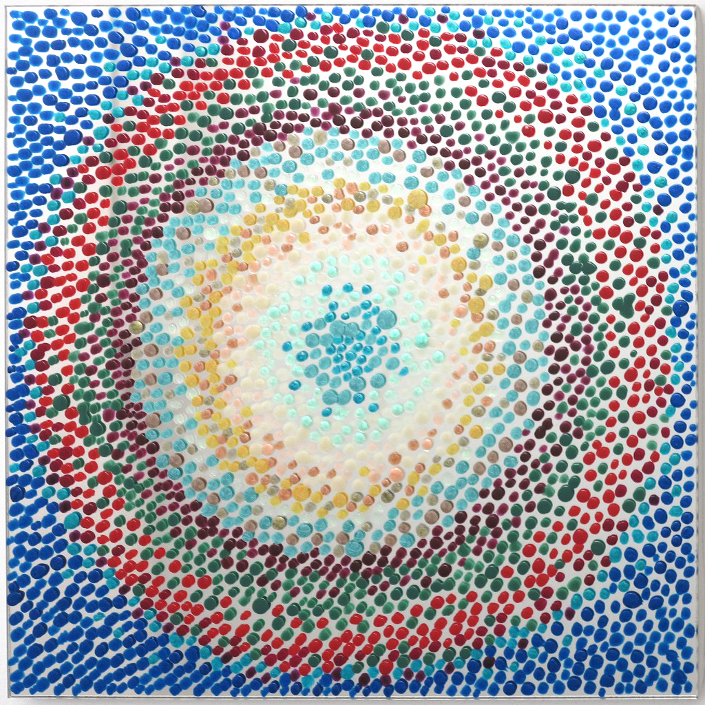 Valoa ja iloa 2016 (30cmx30cm)