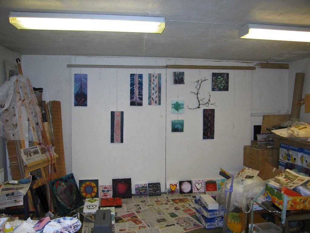Akryylimaalauksia 2006