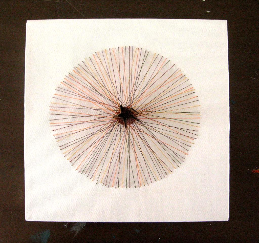 Ruusunmarja 2009 (20cmx20cm)