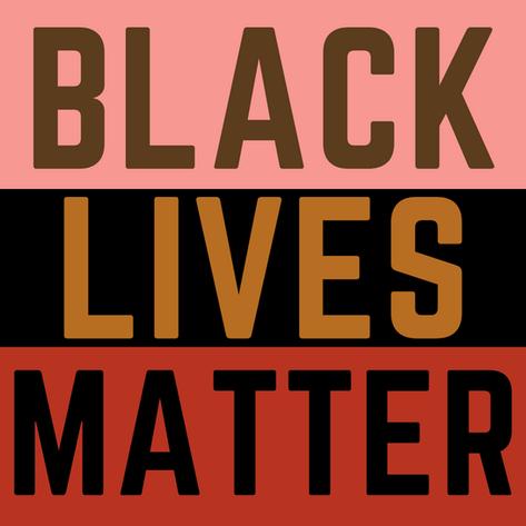 Colorful Black Lives Matter Instagram Po