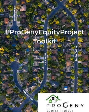#ProGenyEquityProject Toolkit Cover