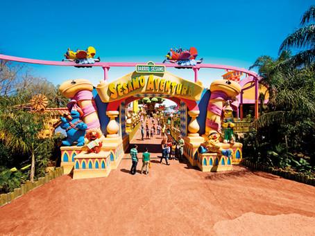 Spanien - Salou - PortAventura World, PortAventura Caribe Aquatic Park & Ferrari Land