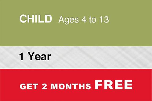 1 Child 1 Year