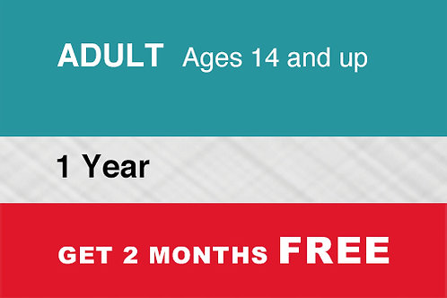 1 Adult 1 Year