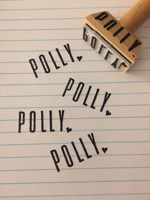 Polly - stempel