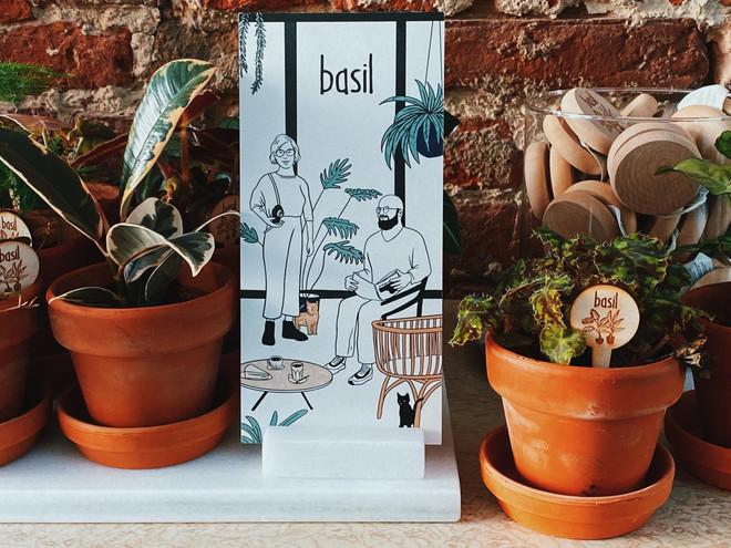 Basil - minimal pentekening